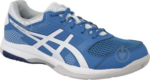 Кроссовки Asics GEL-ROCKET 8 B706Y-401 р. 13 голубо-синий