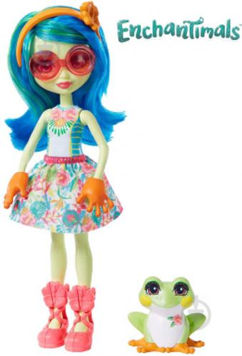 Кукла Enchantimals Лягушонок Тамика GFN43