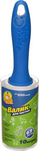 Валик для чищення одягу Фрекен Бок з пластиковою кришкою 10 м 69 лист. - фото 1