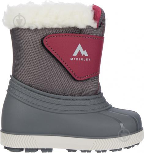 Ботинки McKinley Loupi IV JR 409792-900031 р.EUR 28-29 темно-серый - фото 1