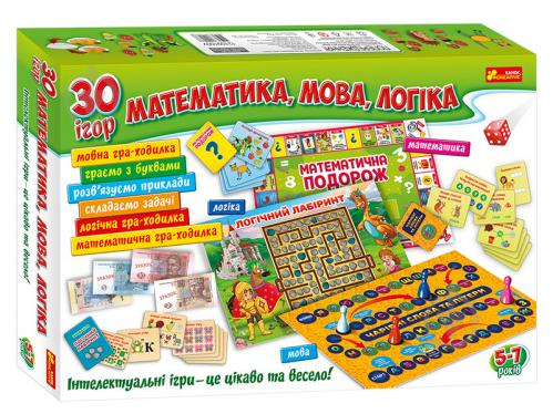 Большой набор настольных развивающих игр Ranok Creative 12109100У, 30 игр - фото 1