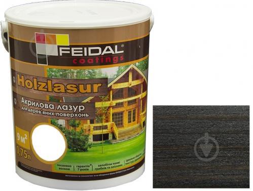 Лазурь Feidal Holzlasur венге шелковистый глянец 0,75 л - фото 1