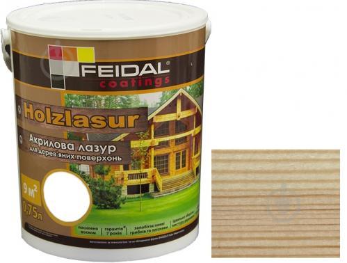 Feidal Holzlasur бесцветный шелковистый глянец 0,75 л - фото 1