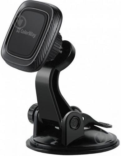 Автодержатель для телефона магнитный ColorWay Dashboard-1 CW-CHM06-GR серый - фото 1