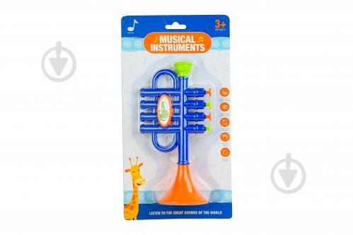 Іграшка музична труба 6824E