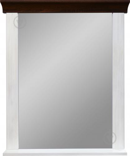 Зеркало прихожей Лавенда 690x870 мм дуб шоколад/сосна норвежская - фото 1