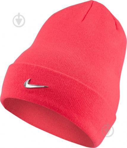 57866c3380dcc6 ᐉ Шапка Nike Y NK BEANIE METAL SWOOSH 825577-617 OS сірий • Краща ...