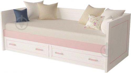 Ліжко-диван Aqua Rodos Voyage VgBed-S-90 90x200 см рожевий