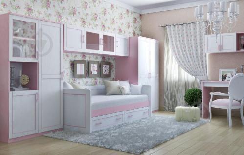 Ліжко-диван Aqua Rodos Voyage VgBed-S-90 90x200 см рожевий - фото 2