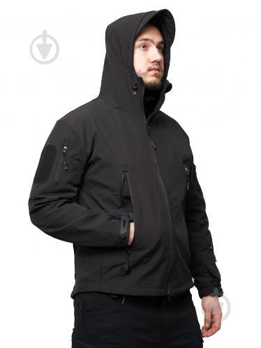 Куртка ESDY Softshell Shark Skin JA-01 L черный - фото 1