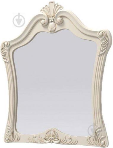 Зеркало Aqua Rodos Versal VELMir 855x995 мм слоновая кость - фото 1