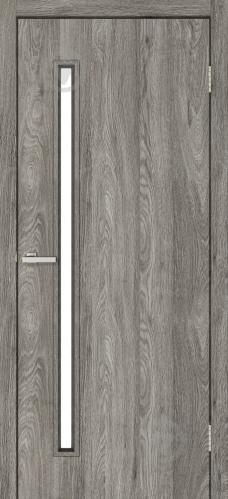 Дверное полотно ОМиС Техно Т01 ПО 800 мм дуб денвер - фото 1