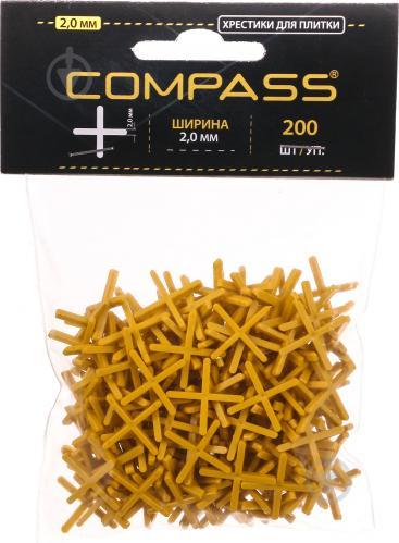 Хрестики дистанційні Compass 2 мм 200 шт./уп