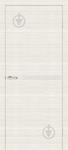 Дверне полотно ОМіС Bianco Line М01 ПГ 600 мм дуб