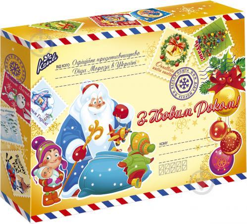Подарунок новорічний Konti Офіційне представницво Діда Мороза в Україні 320  г (4823088602418) 6db59c58a2749