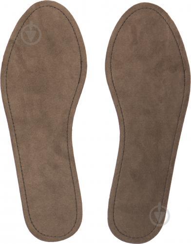 ᐉ Устілки для взуття шкіра замш Роллі розмір 42-43 коричневий ... 23d0079f07d0b