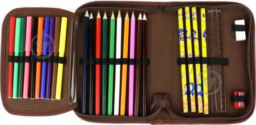 Пенал Разрисуй меня Nota Bene разноцветный - фото 3