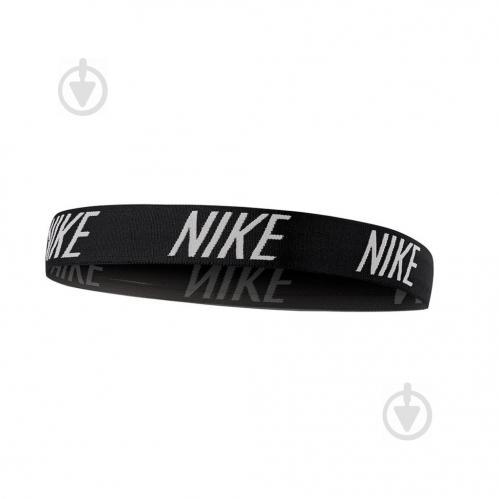Повязка Nike LOGO HEADBAND N.JN.F6.010 р.OS черный - фото 1