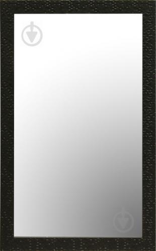 Зеркало настенное с рамкой 3.4312D-5002-1L 400x700 мм черный - фото 1