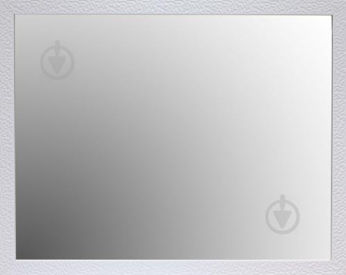 Зеркало с рамой 3.4312D-113L 900x700 мм белый - фото 1