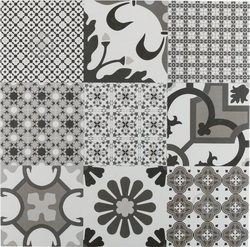 Плитка El Molino Логос Джет Негро 60x60 - фото 1