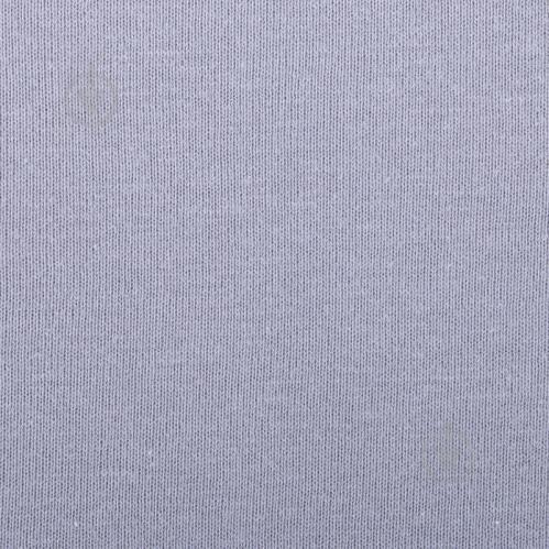 Простынь на резинке трикотажная 180x200 см серый Songer und Sohne - фото 2