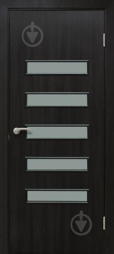 Дверне полотно ламіноване ОМіС Акорд 3 ПО 800 мм венге