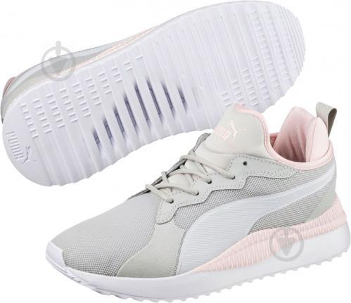 Кроссовки Puma PacerNext 36370311 р. 6 серо-розовый