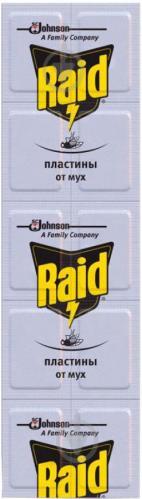Пластини Raid для фумігатора 10 шт. - фото 1