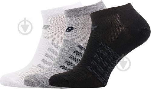 Носки New Balance черно-серо-белый