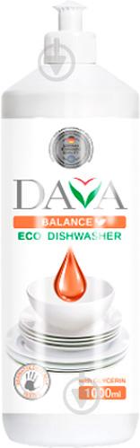 Средство для ручного мытья посуды DAVA BALANCE с глицерином 0,5л - фото 1