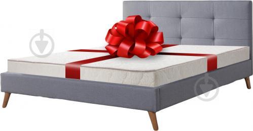 Ліжко Фрея (80314863) + матрац SLIM 160x200 см сірий