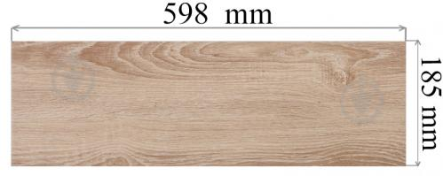 Плитка Cersanit Ясмина крем 18,5х59,8 - фото 5