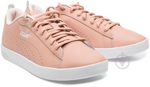 Кеды Puma SmashWnsv2LPerf 36521603 р. 6,5 розовый