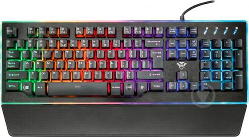 Клавіатура Trust GXT 860 (21839) Thura black - фото 1