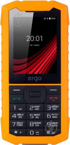 Мобільний телефон Ergo F245 Strength Dual Sim yellow/black