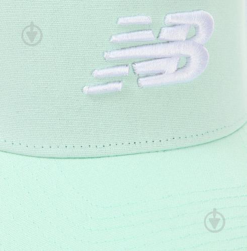Бейсболка New Balance р. OS мятный - фото 3