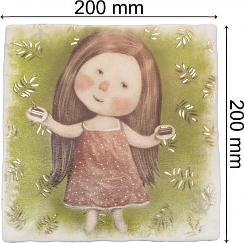 Плитка Атем Ruth Baby 4 декор 20х20 - фото 3