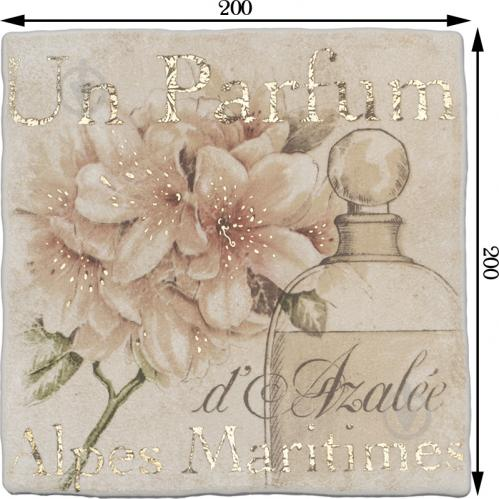 Плитка Атем Ruth Parfum декор 3B 20х20 - фото 3