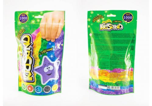 Кинетический песок Danko Toys KidSand 1000 г (8) KS-03-01 - фото 1