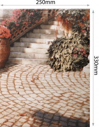 Плитка Golden Tile Troyanda Sorrento декор №6 60Б361 25x33 - фото 5