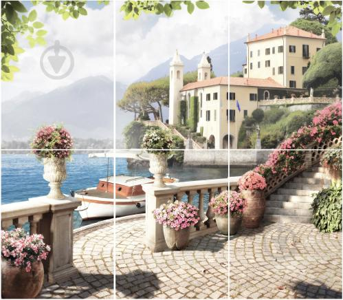 Плитка Golden Tile Troyanda Sorrento декор №6 60Б361 25x33 - фото 4