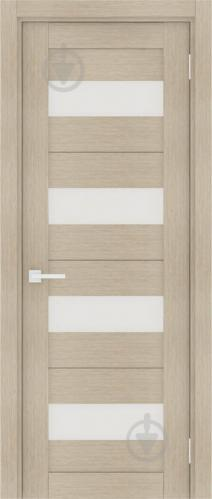Дверне полотно Інтер'єрні двері Порта-23 3D Magic Fog 800 мм капучино