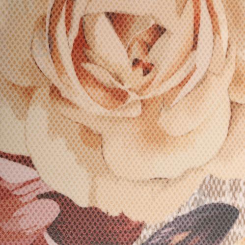 Плитка Golden Tile Gobelen Flower бежевый 701151 25x33 - фото 2