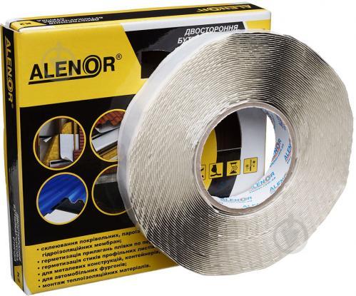 Стрічка Alenor еластична бутил-каучукова (К2) 15 мм x 15 м чорна - фото 1