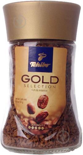 Кофе растворимый Tchibo Gold Selection 50 г (4046234767476) 4046234767476 - фото 1