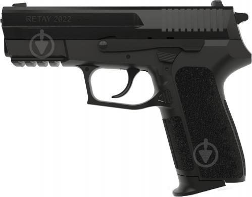 Оружие сигнально-шумовое Retay 2022 9 мм black - фото 1