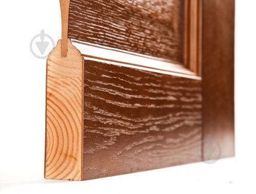 Дверное полотно Terminus №03 ПГ 800 мм дуб темный - фото 2