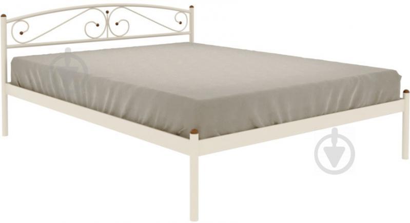 Кровать Сениро 160x200 см бежевый - фото 1