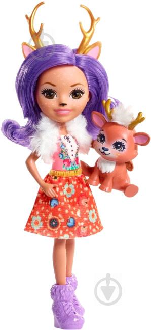 Кукла Enchantimals Олениха Дениса FNH23 - фото 1